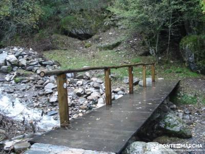 Las Médulas - Valle del Silencio - Herrería de Compludo;practicar senderismo senderos del monaster